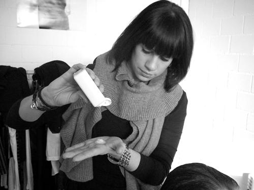 Hair and Make Up Artist Rachel Wolfisberg