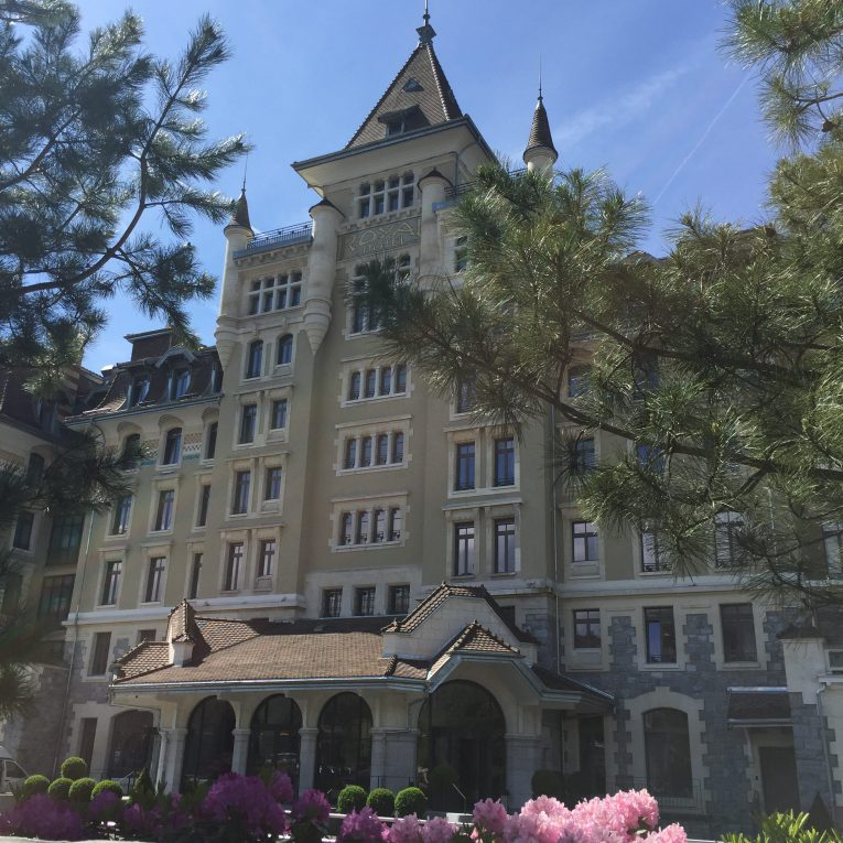 Royal Savoy Lausanne by Day