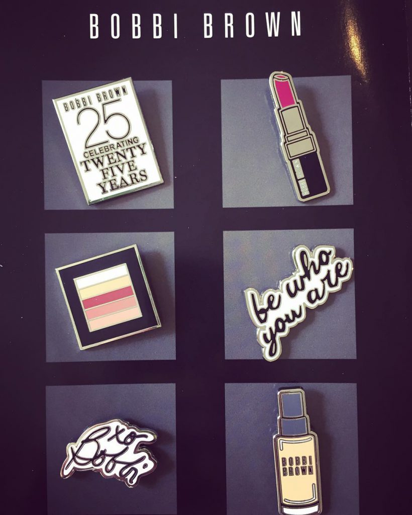 cutenessalert ! How pretty are these pins by bobbibrown ?!hellip