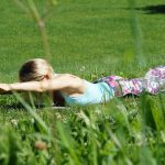 Yoga-Übung 3: Heuschrecke