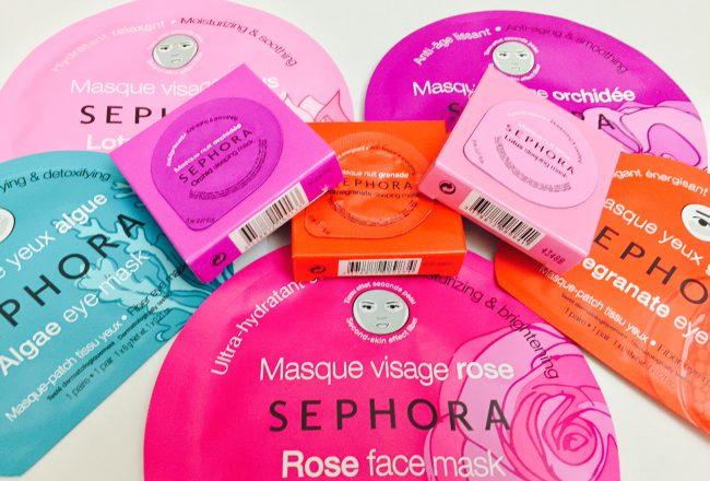 Sephora Gesichtsmasken