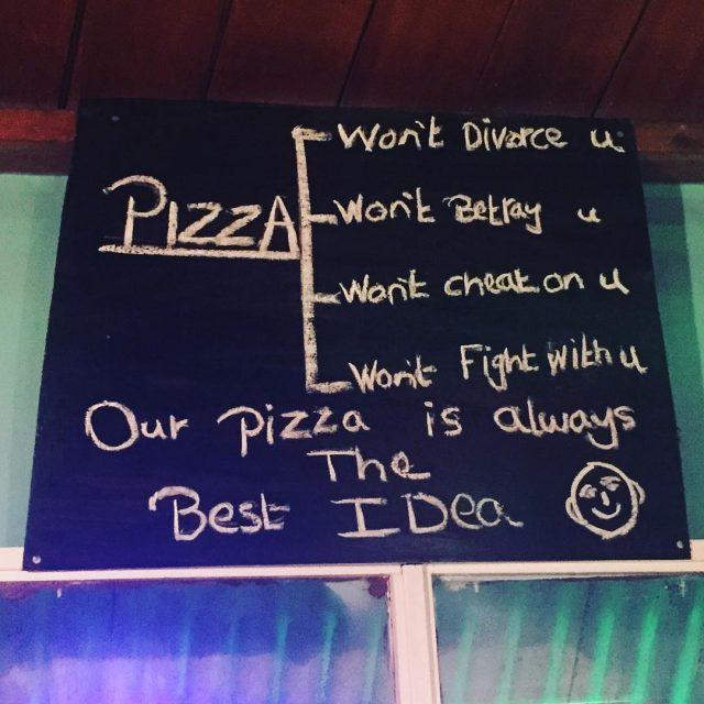 Wort zum Dienstag wie wahr wisdom pizza pizzalover pizzawisdom wordhellip
