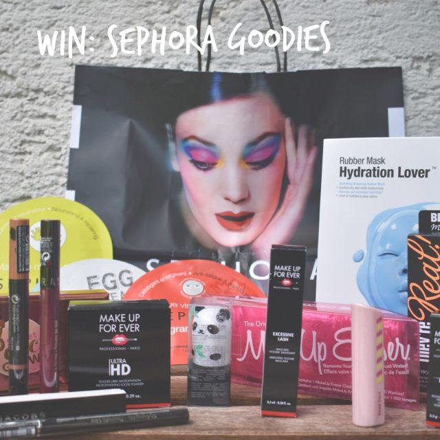Monday Giveaway Wir verlosen diesen prall gefllten Sephora Goodiebag! Mithellip