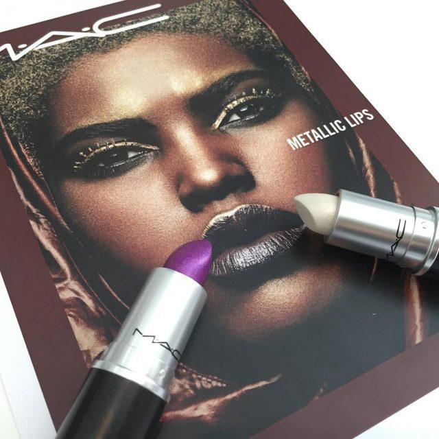 MAC Metallic Lips jetzt erhltlich an allen MAC Stores undhellip