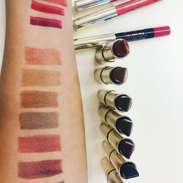Wie gefallen euch die Pure Color Love Lipsticks von esteelauderhellip
