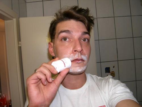 Shave Guard auftragen