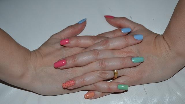 alle Finger