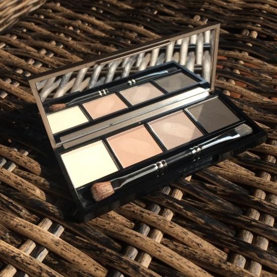 Das Objekt des Abends - die Eyeshadowpalette Limited Edition.