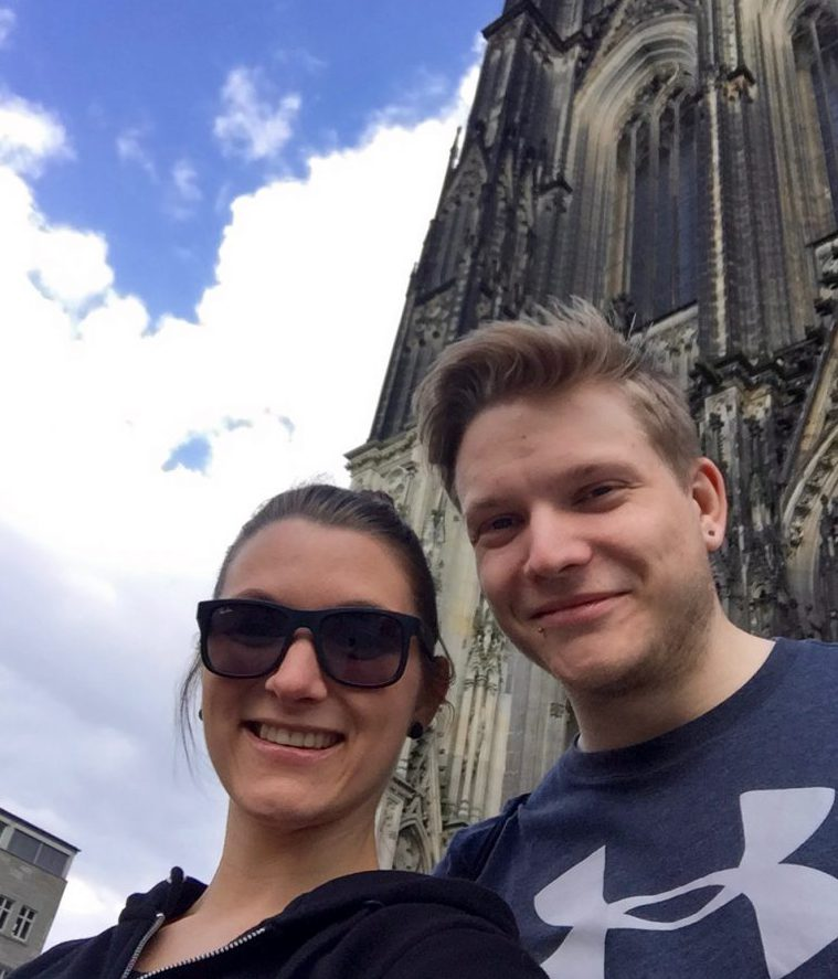Bizli Kultur musste auch noch sein: Kölner Dom :-)