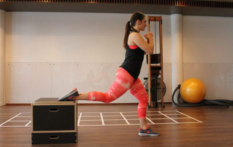 Bulgarian Split Squats Neujahrs-Workout