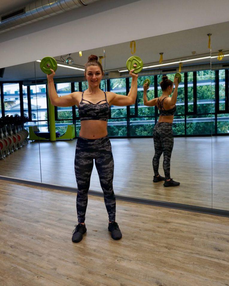 Oberkörper-Stretching
