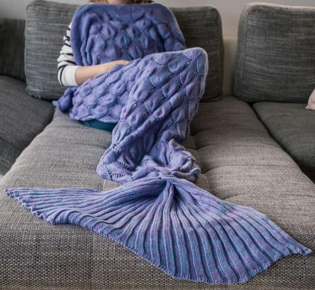 Weihnachtsgeschenke Meerjungfrauen-Decke